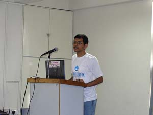 Speaking @ Drupal Camp 2009
